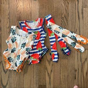 2-PK Baby's Swimsuits